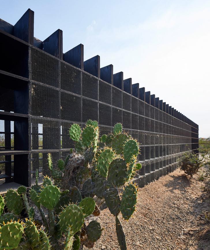 Фото №6 - Курятник по проекту Кенго Кумы в Мексике