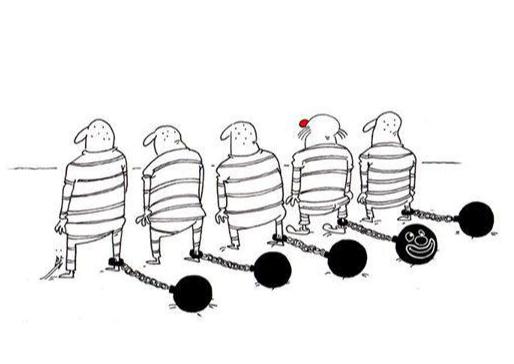 Фото №1 - 12 жизненных карикатур от художницы из Ирана