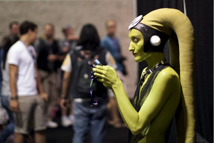 Фото №1 - Инопланетный гость