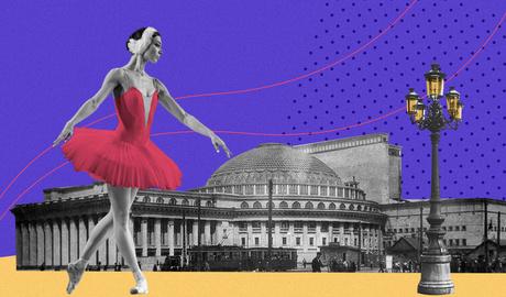 Летящей походкой: прогулка по Каменской с балериной НОВАТа