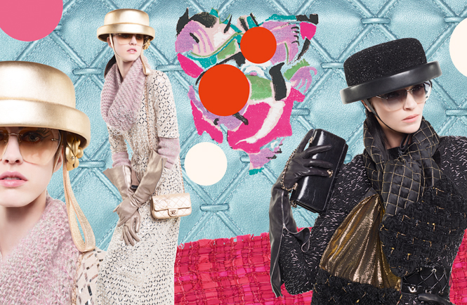 Фото №2 - Коллажи Карла Лагерфельда: креативная кампания Chanel FW 16/17
