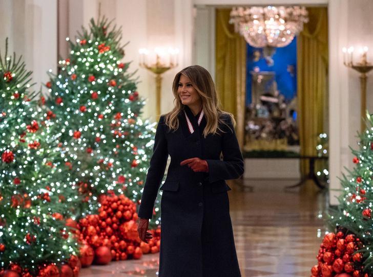 Фото №1 - Праздничное убранство резиденций королей и президентов в ожидании Рождества и Нового года