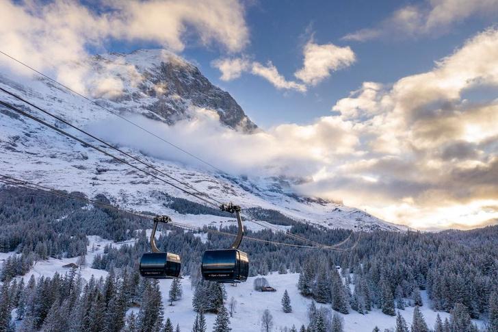 Фото №2 - Швейцария и ее необычные зимние развлечения, которые ждут вас прямо сейчас