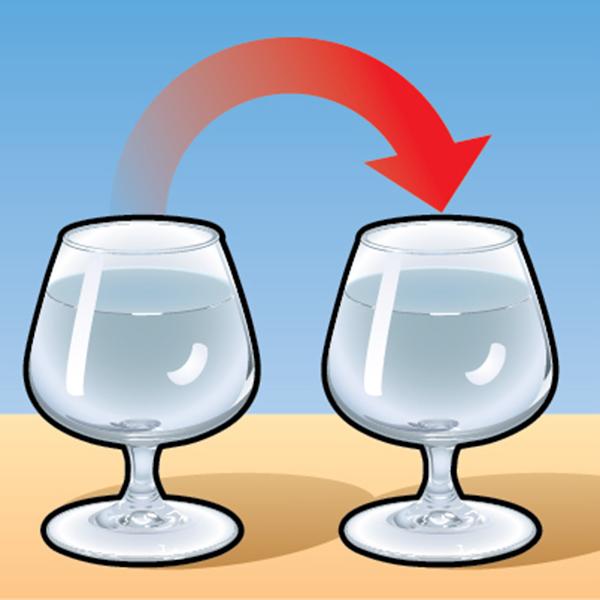 Фото №1 - Простой фокус с двумя бокалами