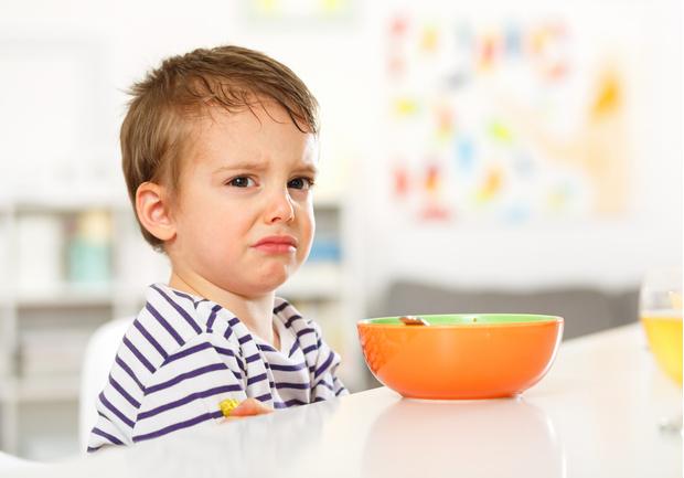 рейтинг нелюбимых детских блюд