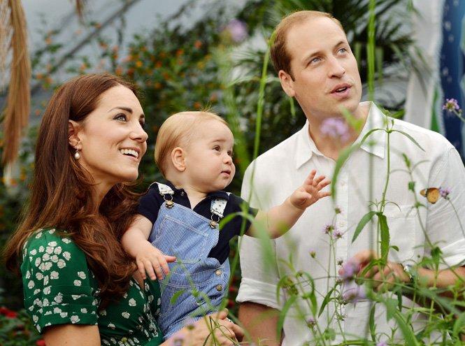 Фото №25 - Принц Джордж Кембриджский: три года в фотографиях