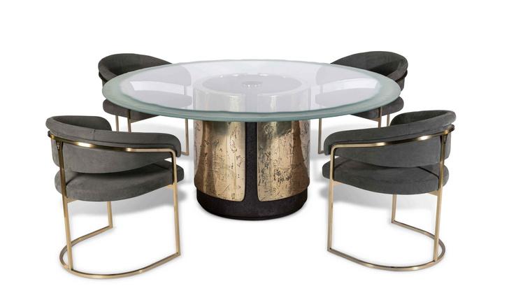 Фото №5 - ТОП-10: столы на скульптурном основании