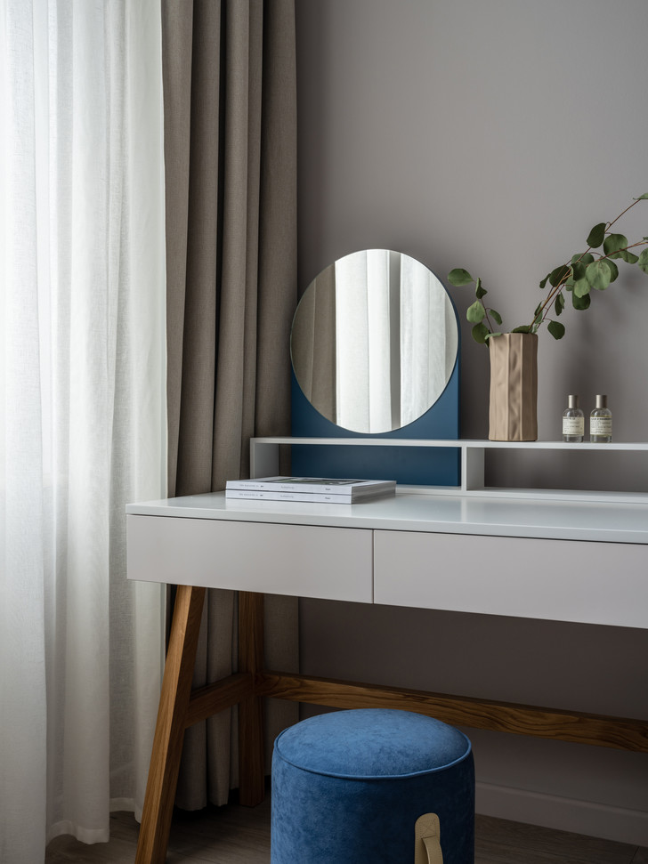 Фото №4 - Квартира 100 м² в оттенках зелени, моря, песка и заката