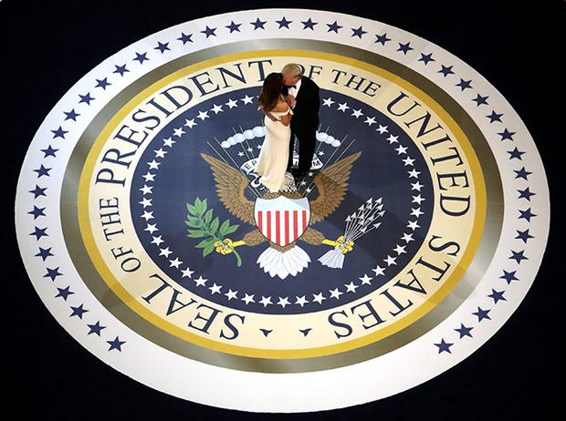 Фото №17 - Рождение fashion-звезды: Мелания Трамп на инаугурации