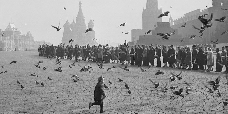 Фото №1 - Москва в объективе Наума Грановского на выставке в Галерее Люмьер