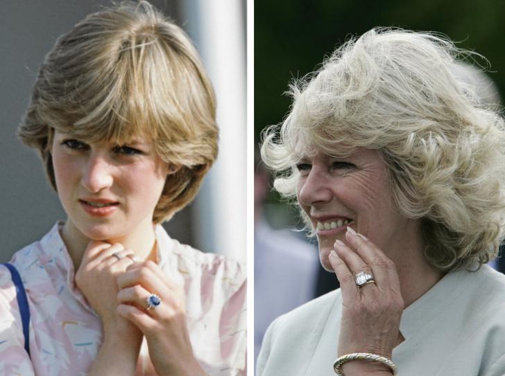 Фото №1 - Разный подход: почему Диане досталось кольцо из каталога, а Камилле – фамильная реликвия