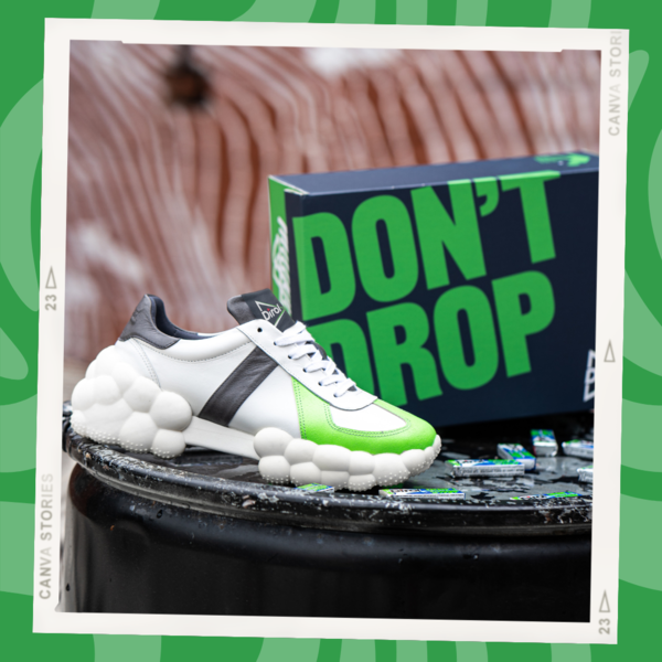 Фото №1 - #DirolDontDrop: супермодные кроссовки с необычной подошвой захватили Инстаграм