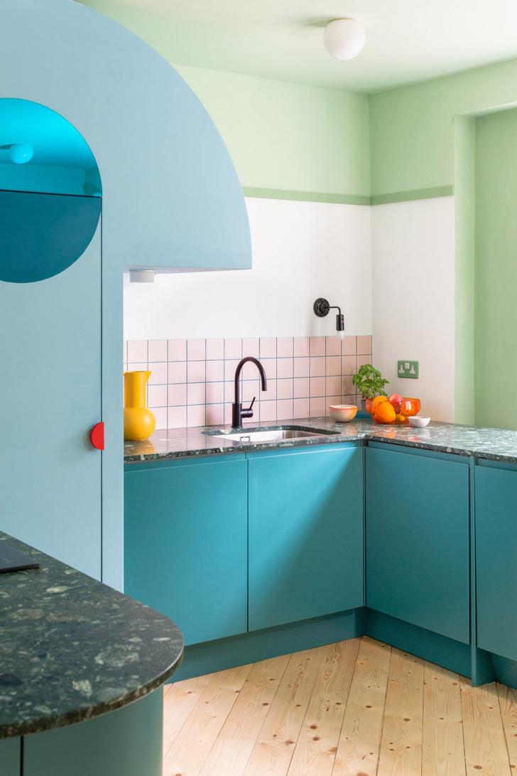 Фото №3 - Color Blocking: яркий дом в Лондоне