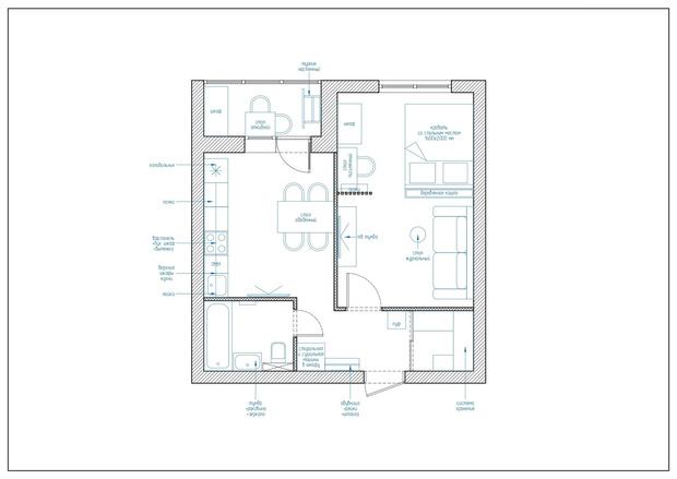 Фото №14 - Яркая квартира для сдачи в аренду в Самаре
