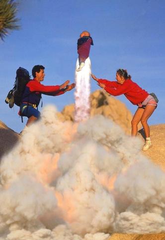 Фото №3 - История одной фотографии: «Летящий ребенок», Калифорния, 1995 год