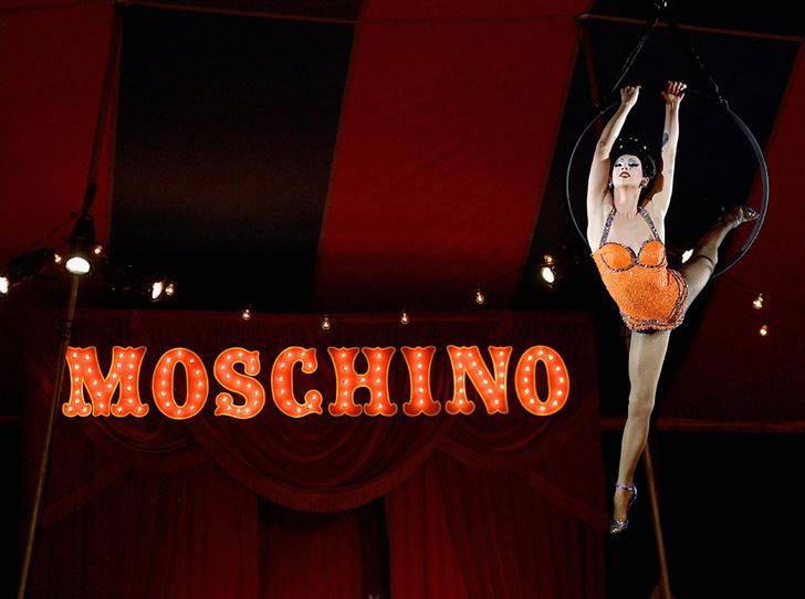 Фото №2 - Цирк приехал! Moschino Resort 2019