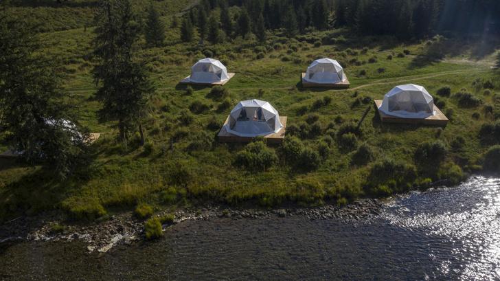 Фото №2 - Mamont Camp: новый глэмпинг на Алтае