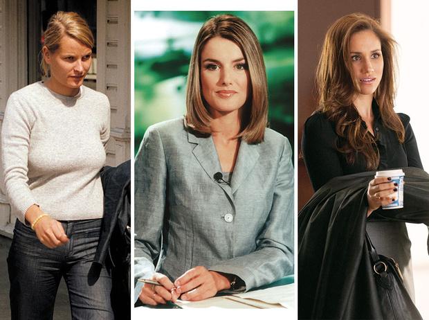 Фото №1 - Кем работали будущие принцессы и королевы