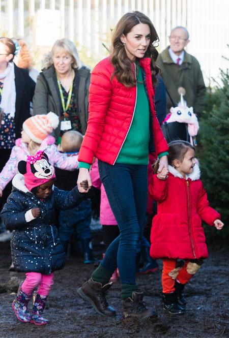 Герцогиня Кейт в Грейт-Миссендене