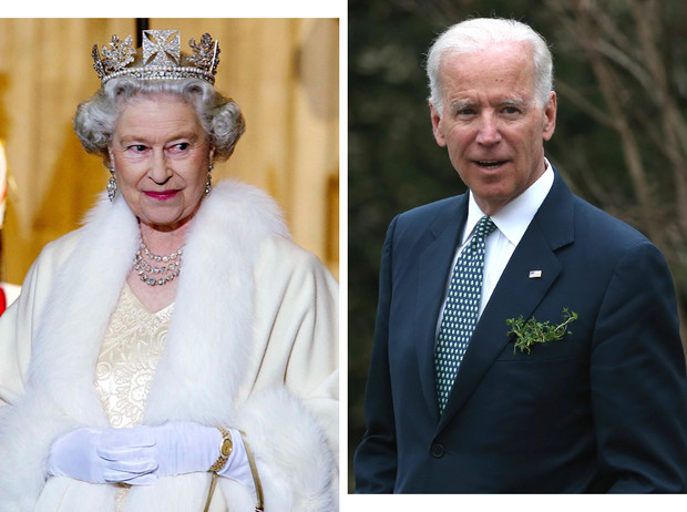 Фото №1 - Тайное послание: какое сообщение Королева отправила Джо Байдену перед инаугурацией