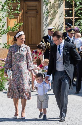 Фото №3 - Как проходило крещение шведской принцессы Адриенны