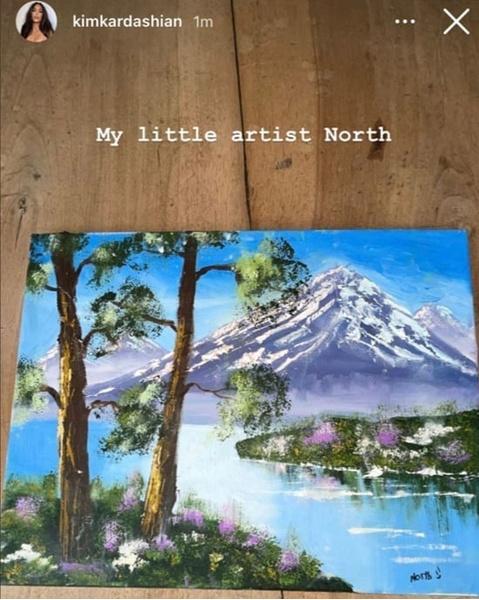 Фото №3 - Лазарев похвастался картиной, которую нарисовал его 7-летний сын