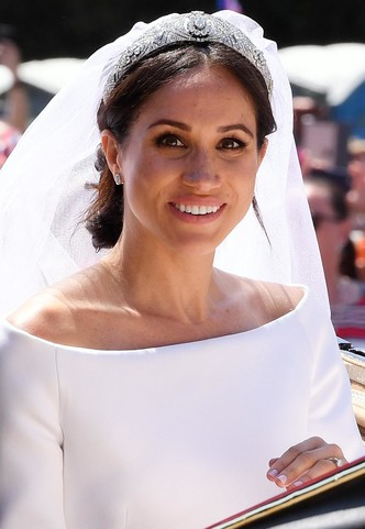 Свадьба Гарри и Меган состоялась 18 мая 2018 года.