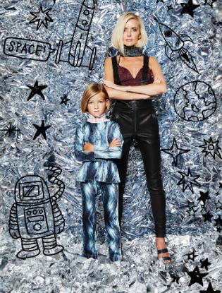 Фото №8 - Звездные мамы и дети в лукбуке H&M Studio Kids