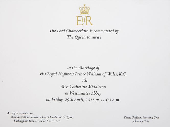 Фото №5 - Пригласительные на свадьбу Гарри и Меган: чем они отличаются от приглашений Уильяма и Кейт