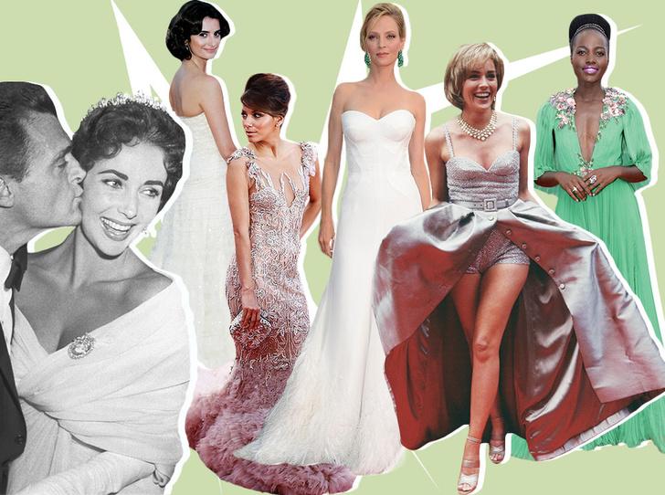 Фото №1 - Войти в историю: 35 культовых платьев Каннского кинофестиваля