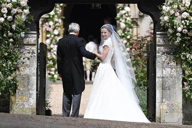 Фото №25 - Свадьба Пиппы Миддлтон