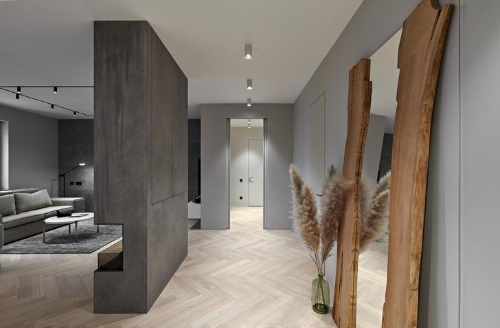 Фото №8 - Бетонная квартира 115 м² с камином в Санкт-Петербурге