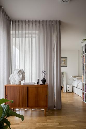 Фото №6 - Минималистская квартира 37 м² в Лодзе