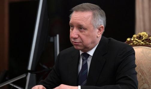 Фото №1 - Губернатор Петербурга считает, что город «подходит к красной черте»
