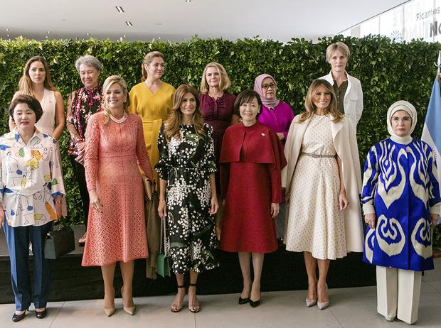 Фото №14 - G20 в Аргентине: самые яркие модные выходы Первых леди