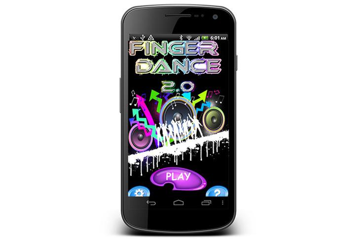 Finger Dance приложение