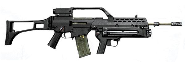 Фото №4 - Автоматы, стоящие на вооружении в армиях разных стран мира