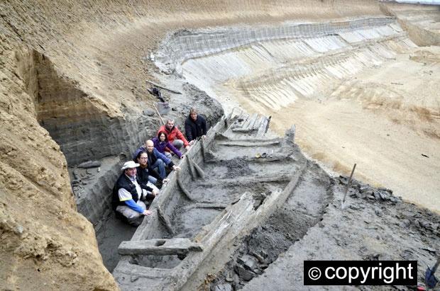 Фото №1 - В Сербии под землей нашли целую флотилию