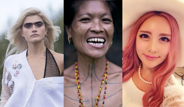Фото №1 - 7 самых диких трендов женской красоты в азиатских странах