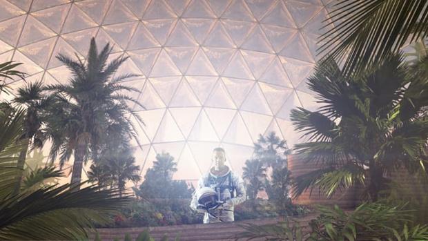 Фото №4 - В Арабских Эмиратах собираются построить космический город для тренировки колонизации Марса (фото)