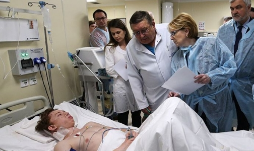 Фото №1 - Неопознанные пострадавшие в теракте пришли в сознание в больницах Петербурга