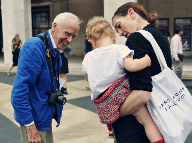 Фото №9 - Отец уличной моды: как Билл Каннингем изменил мир модной фотографии