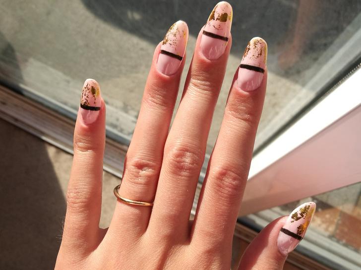 Фото №9 - Маникюр для длинных ногтей: 15 идей на любой случай