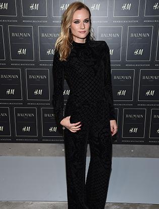 Фото №5 - В Нью-Йорке показали коллекцию Balmain для H&M