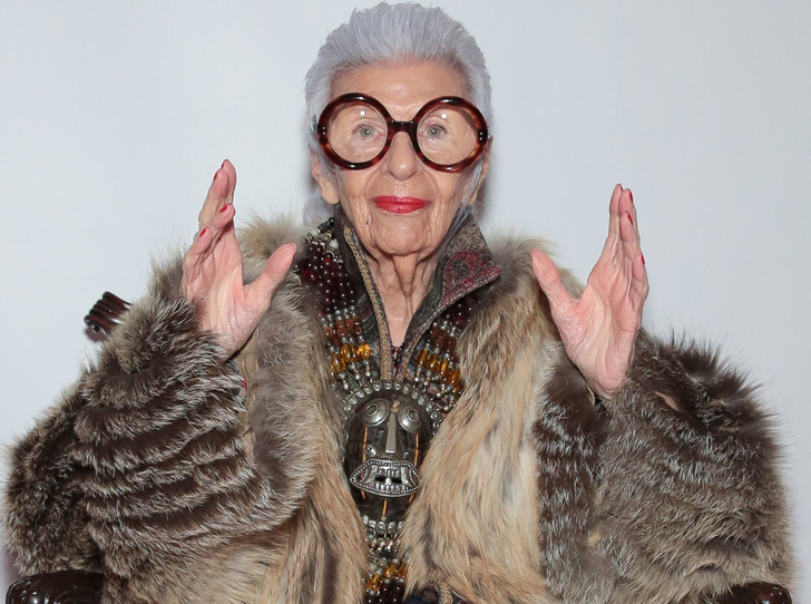 Фото №3 - Айрис Апфель рассказала, как она выбирает свои очки
