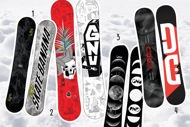Фото №3 - 20 крутых сноубордов