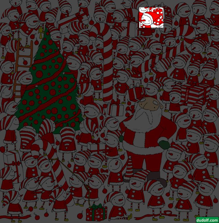 Фото №5 - Загадка только для очень зорких: отыщи шапку Деда Мороза