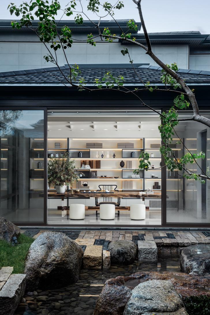 Фото №1 - Дом с панорамными окнами и садом в Сучжоу
