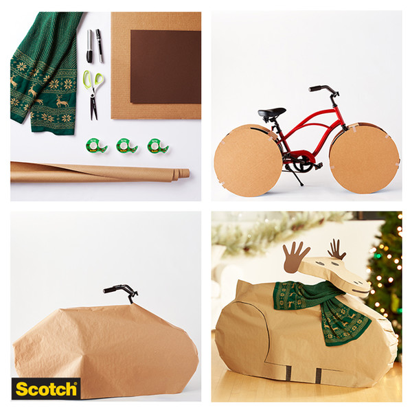 Фото №5 - Упаковка подарков к Новому году: 9 классных идей