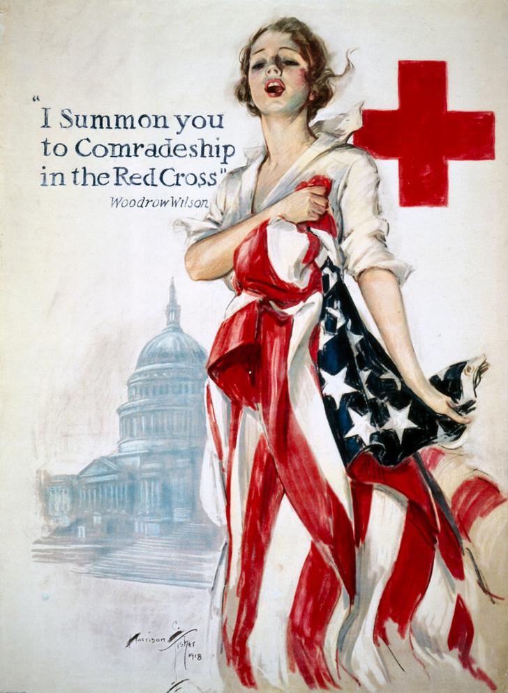 Фото №4 - Помощь всем, кто в ней нуждается: 140 лет Красному Кресту Америки